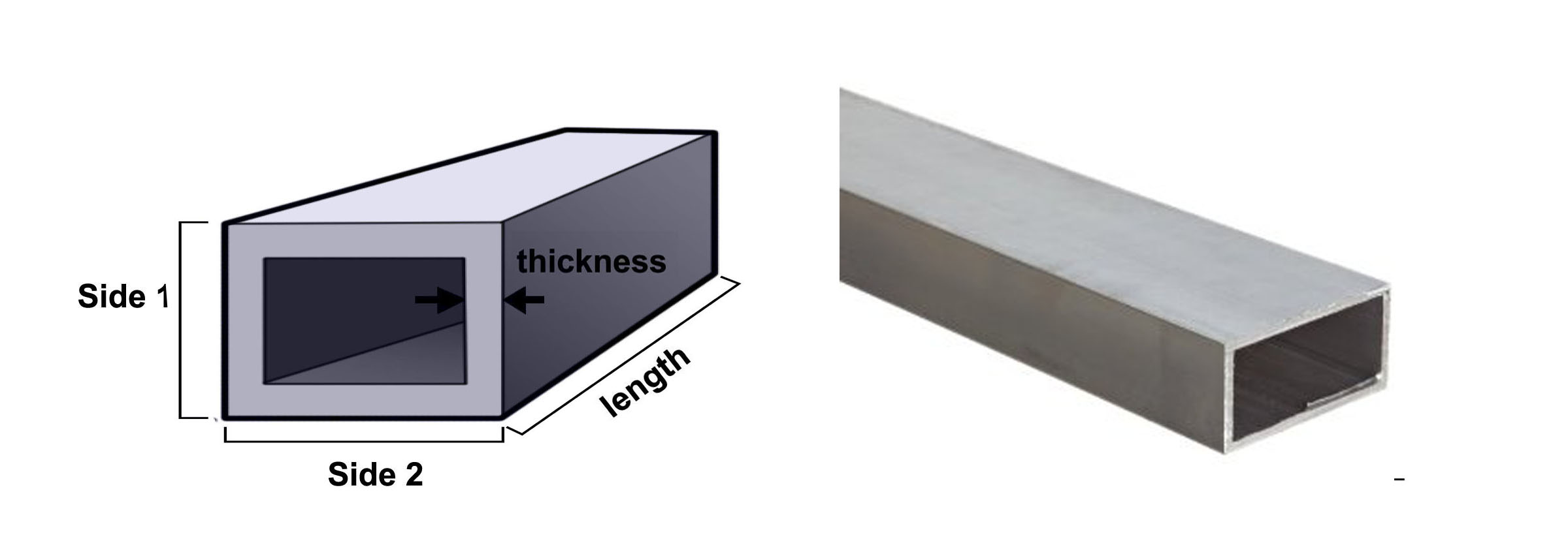 how to cut square metal tubing