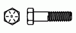 Hex Bolts Grade 8